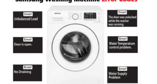Samsung Washing Machine Error Code