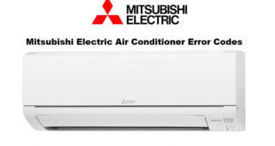 Mitsubishi Electric Air Conditioner Error Codes