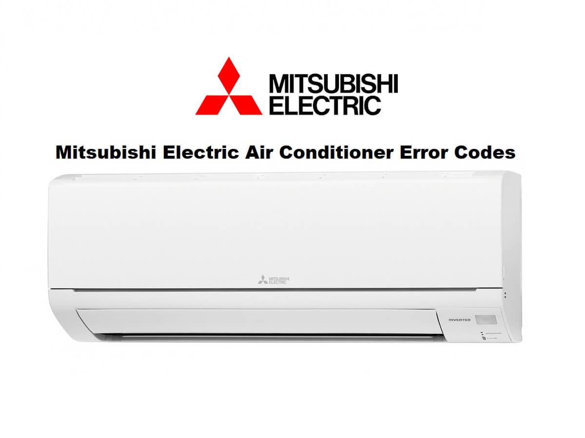 Mitsubishi Electric AC Error Codes – Mr Slim P/K Series