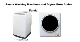 Miele Washing Machine Error Codes-Troubleshooting,Problems