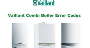 Vaillant Combi Boiler Error Codes