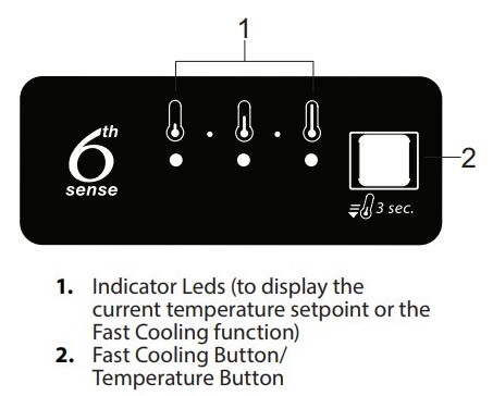 Whirlpool Refrigerator Control Panel