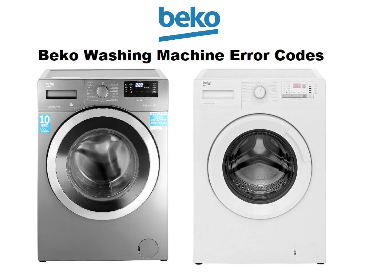 Beko Washing Machine Error Codes