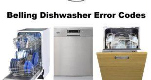 Belling Dishwasher Error Codes