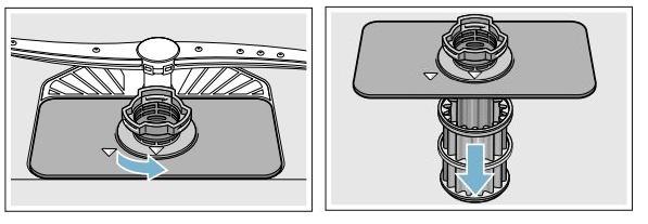Bosch Dishwasher Clean Filter