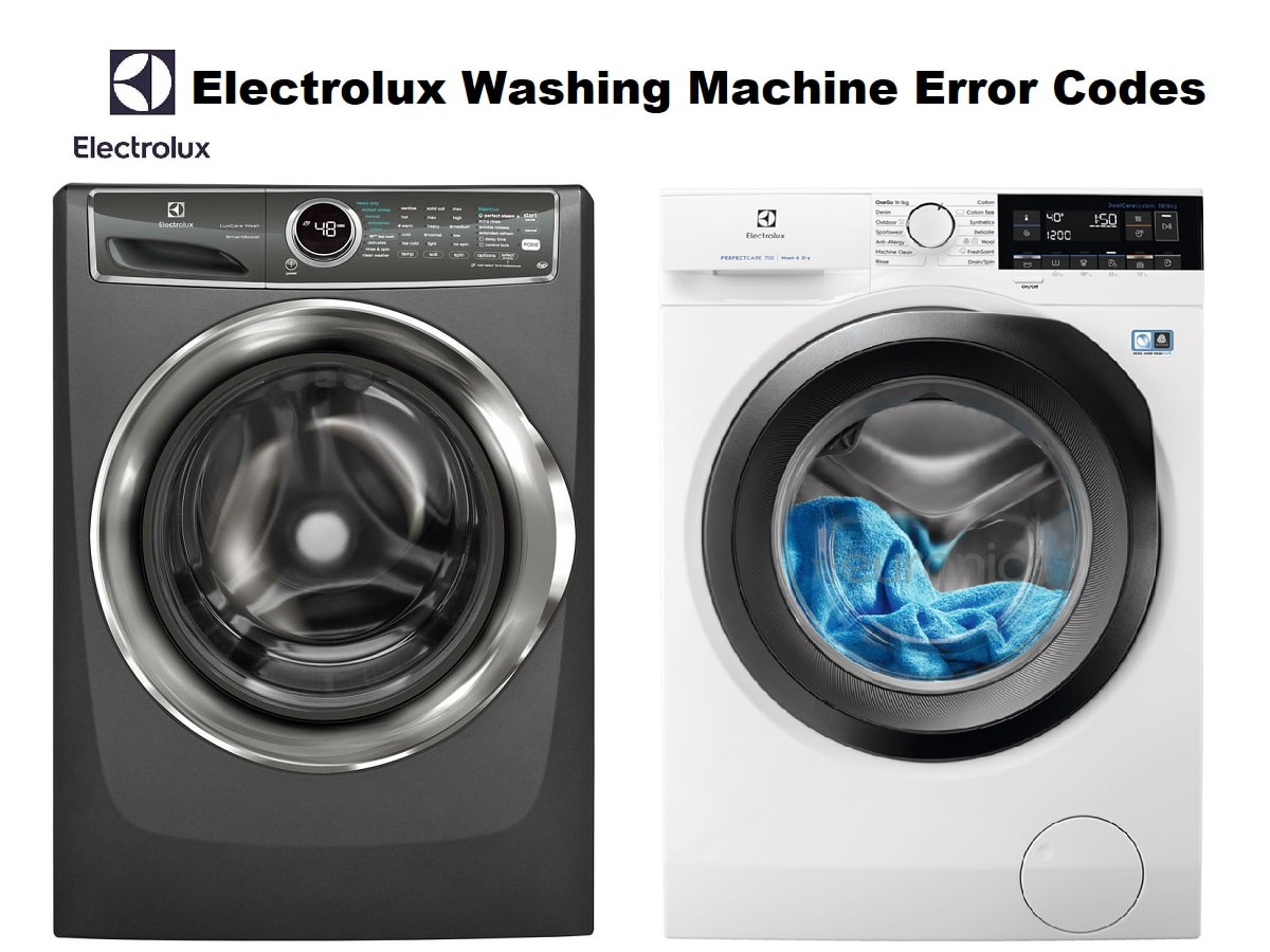 Electrolux Washing Machine Error Codes