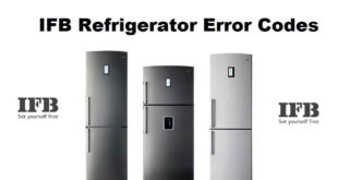 IFB Refrigerator Error Codes