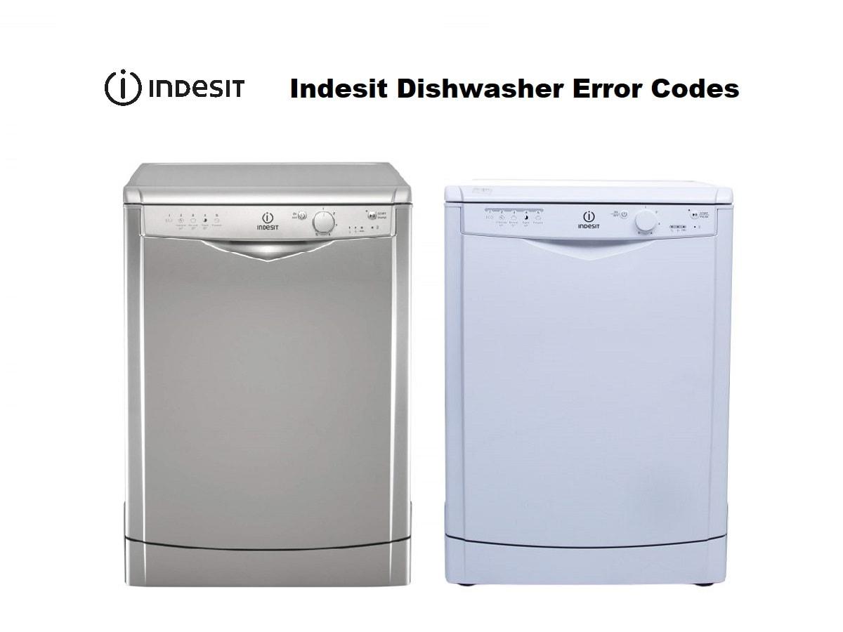 Indesit Dishwasher Error Codes