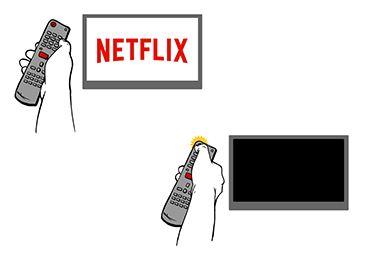 Turn off or unplug your smart TV