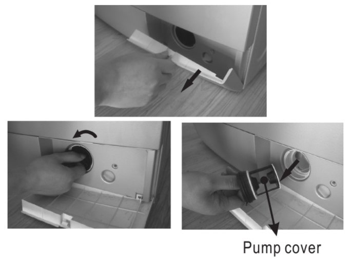 Zanussi Washing Machine Clean Pump