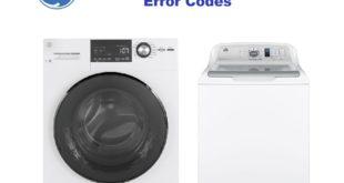 GE Washing Machine Error Codes