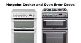 Hotpoint Cooker and Oven Error Codes