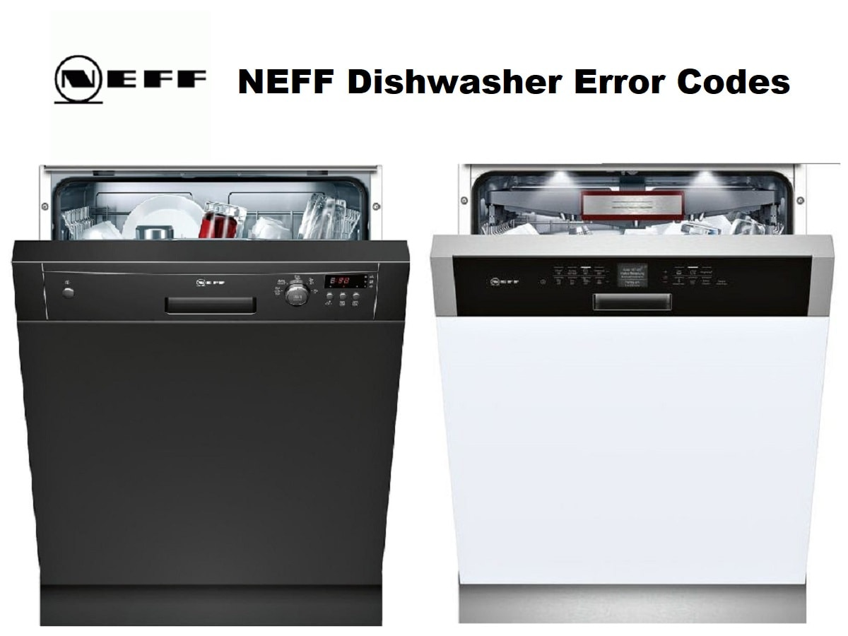 NEFF Dishwasher Error Codes