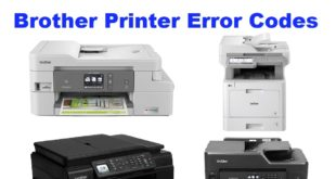 Brother Printer Error Codes