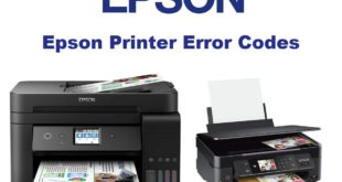 Epson Printer Error Codes