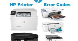 HP Printer Error Codes