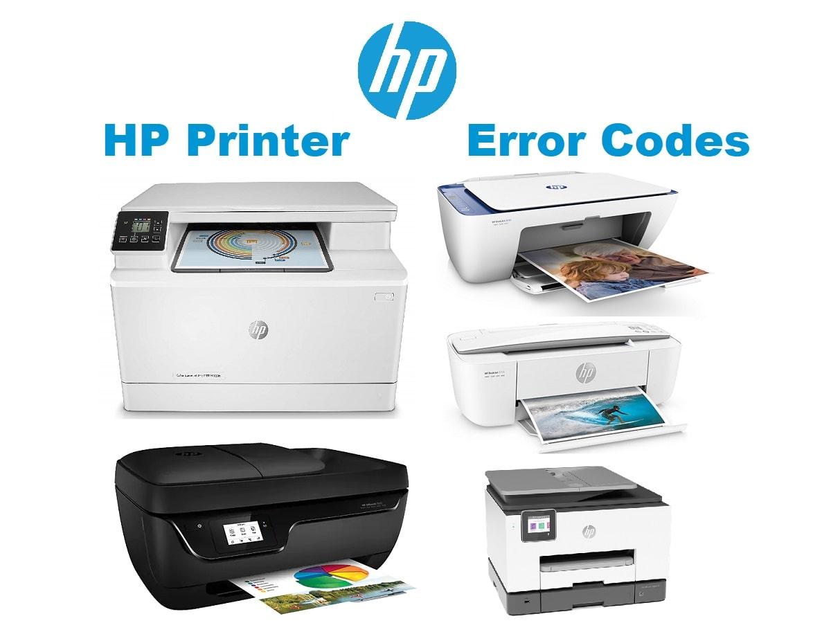 HP Printer Error Codes