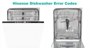 Hisense Dishwasher Error Codes