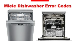 Miele Dishwasher Error Codes