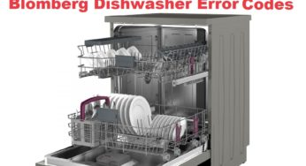 Samsung Dishwasher Error Codes-Troubleshooting,Problems,Manuals