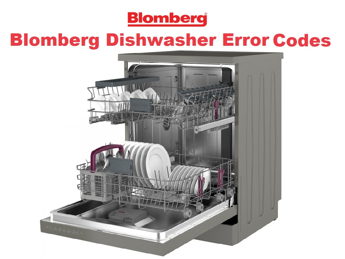 Blomberg Dishwasher Error Codes
