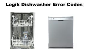 Logik Dishwasher Error Codes