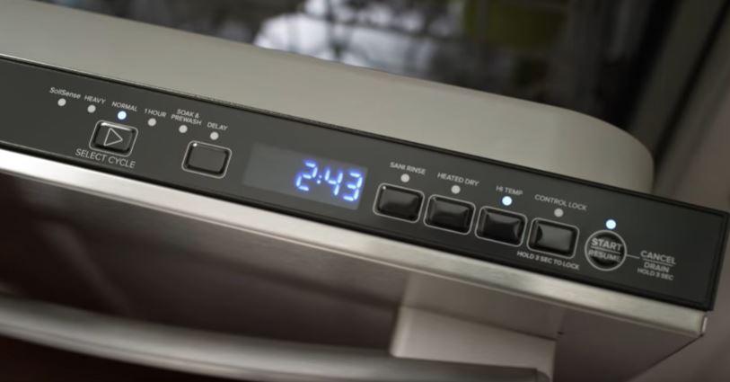 Amana Dishwasher-Fully Integrated Console