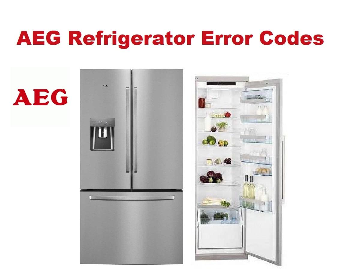 AEG Refrigerator Error Codes