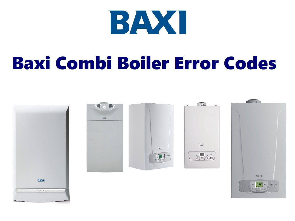 Baxi Combi Boiler Error Codes