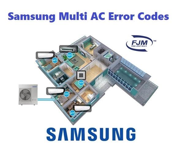 Samsung Multi AC Error Codes