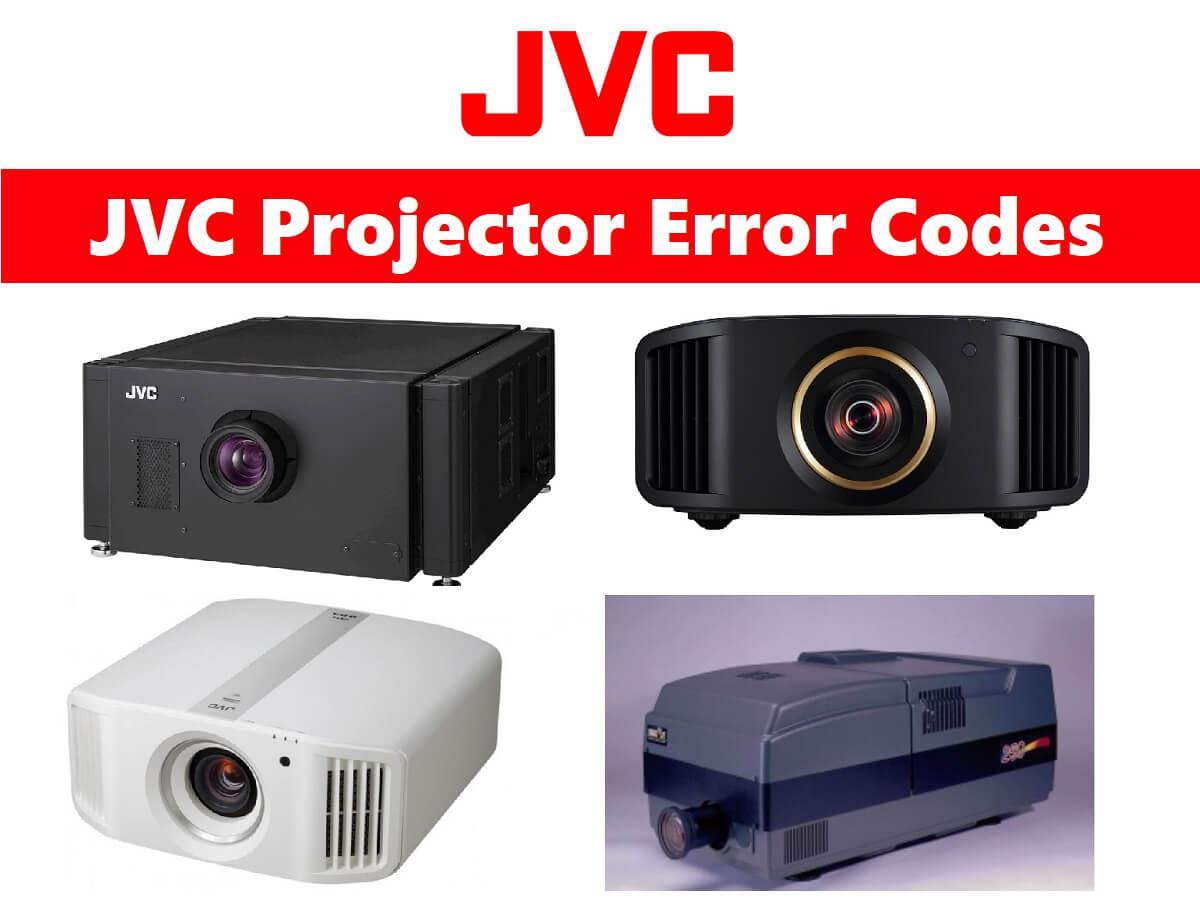 JVC Projector Error Codes
