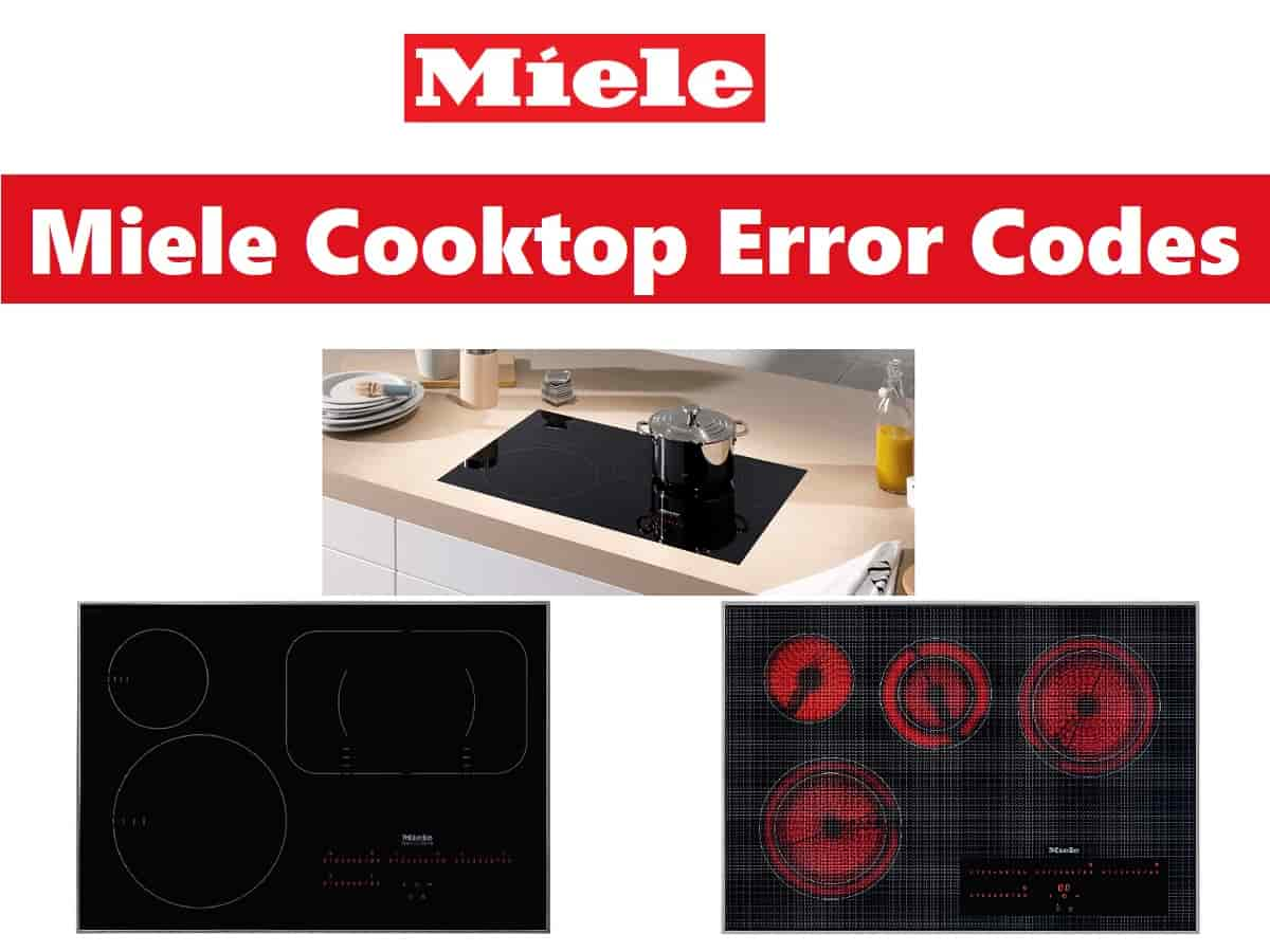 Miele Cooktop Error Codes