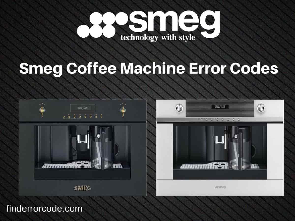Smeg Built-In Coffee Machine Error Codes