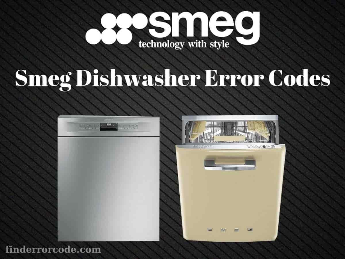 Smeg Dishwasher Error Codes