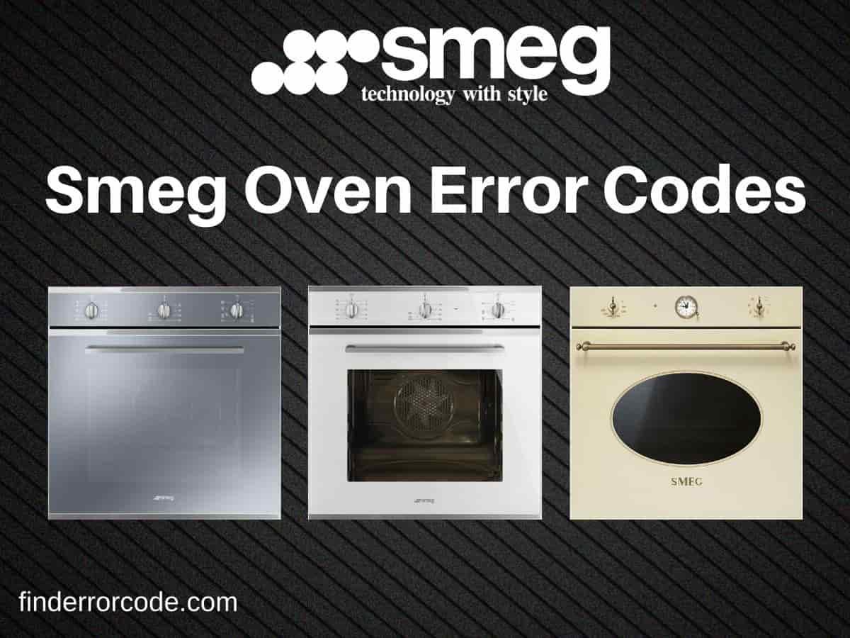 Smeg Oven Error Codes