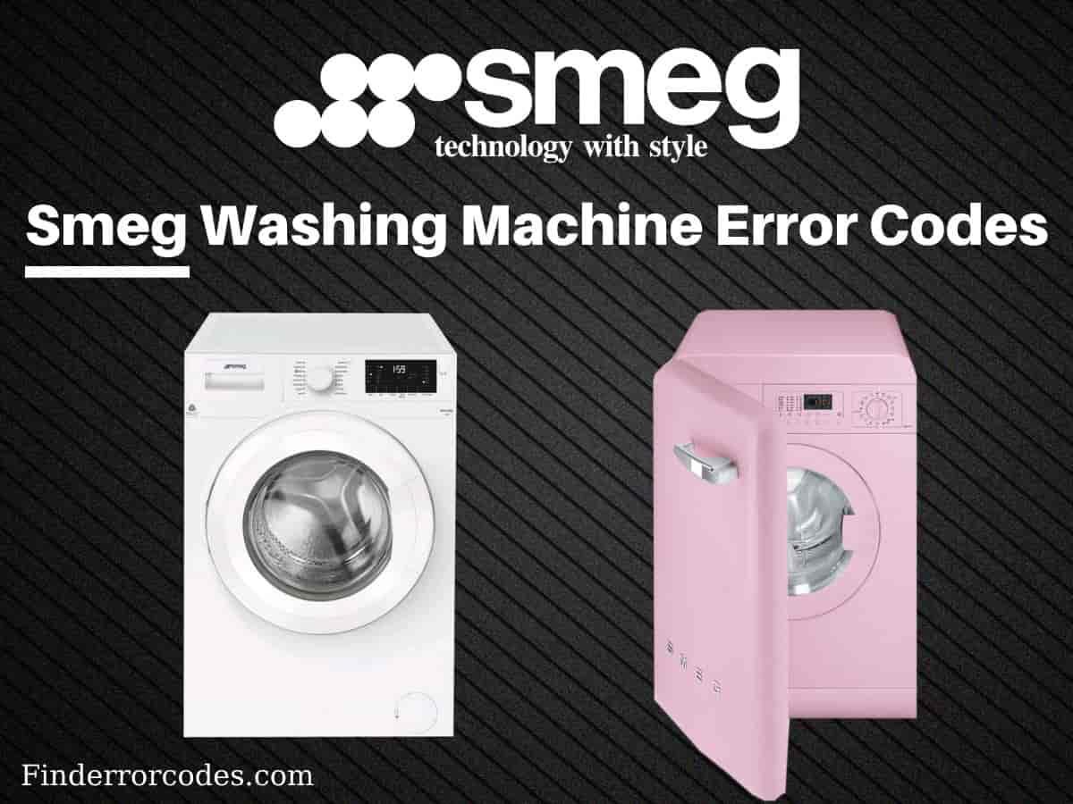 Smeg Washing Machine Error Codes