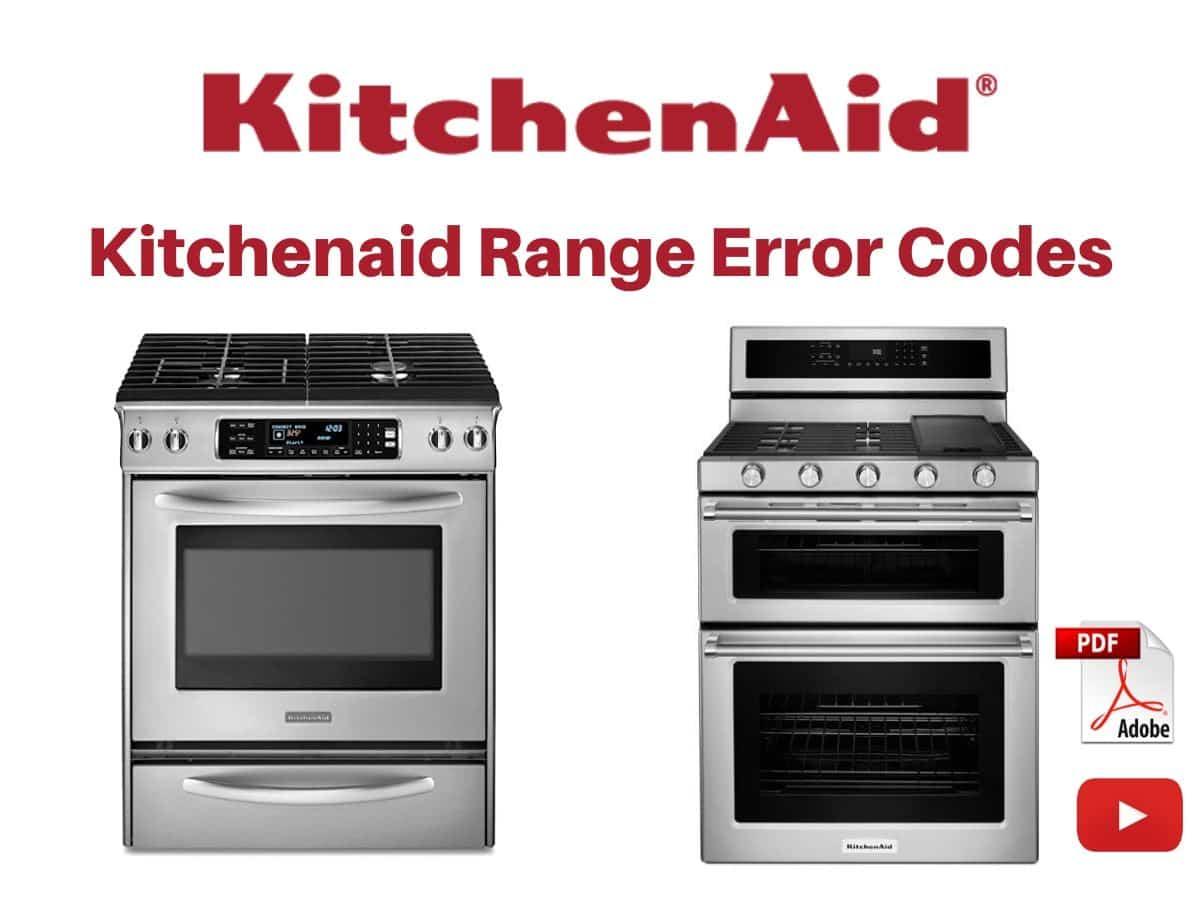 Kitchenaid Range Error Codes