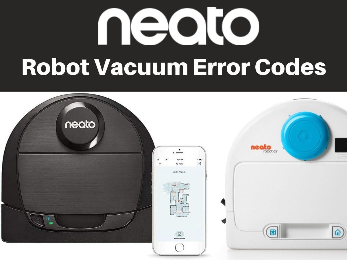 Robot Vacuum Error Codes and Troubleshooting