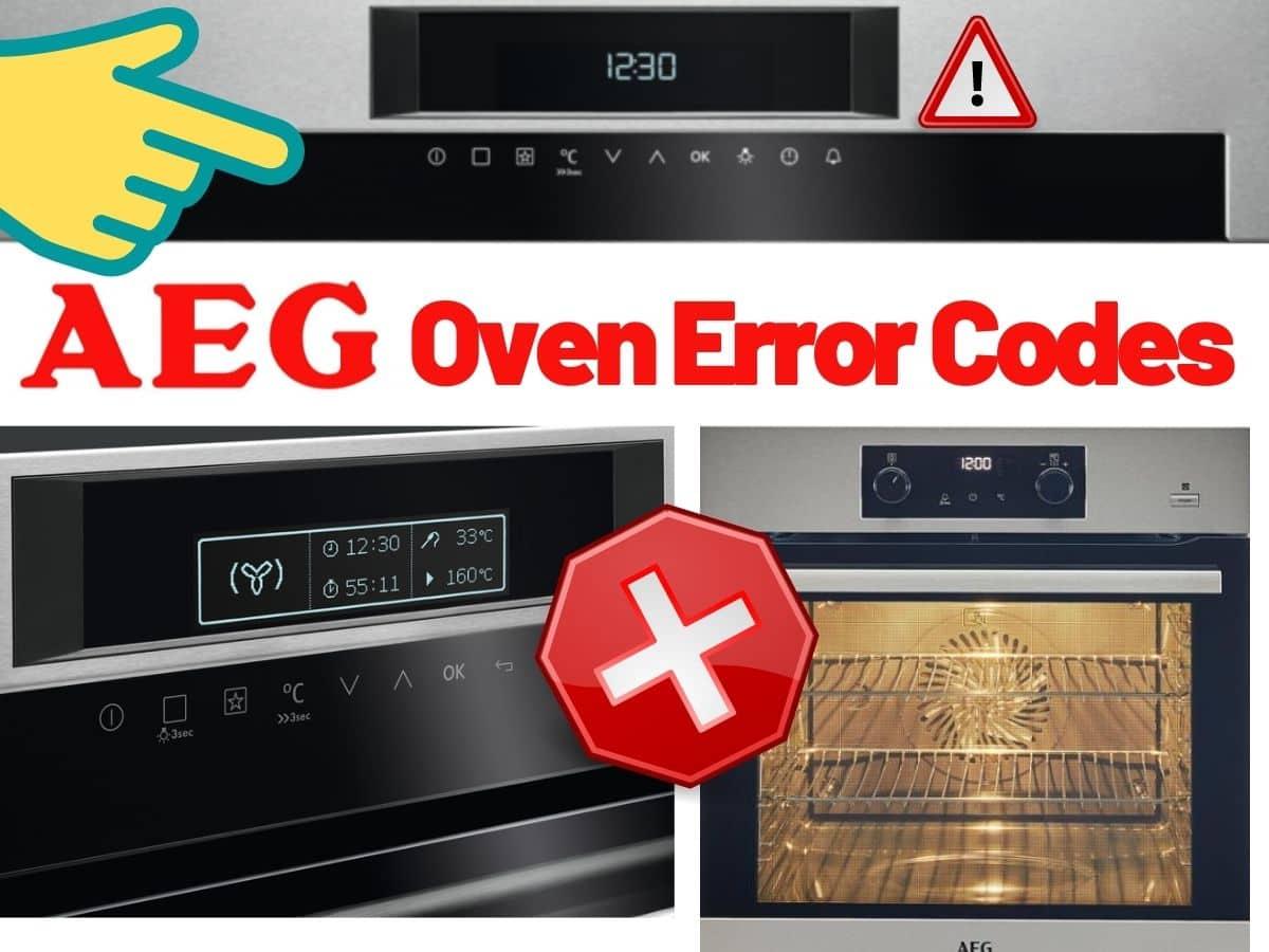 Aeg Oven Error Codes